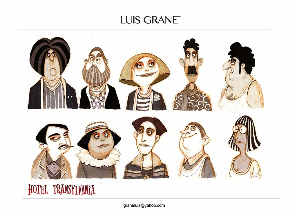 Luis Grane Character Design